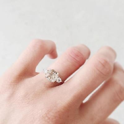 垫式切工钻石的推荐比例